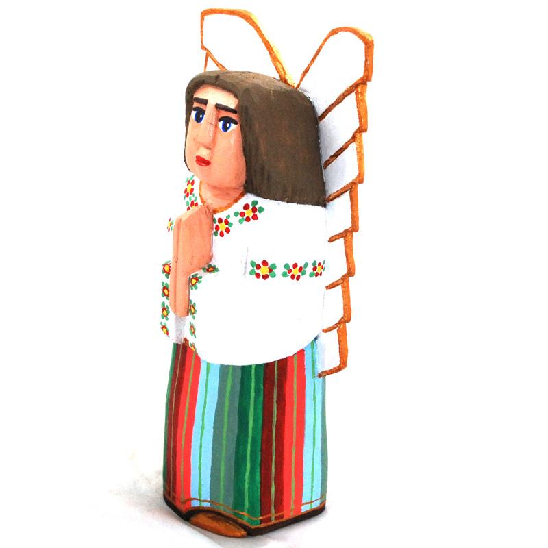 Anioł w łowickiej sukience