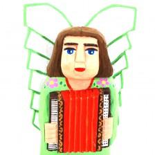 Anioł z akordeonem