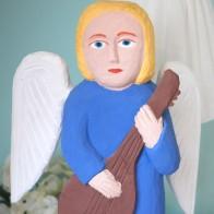 Anioł z gitarą
