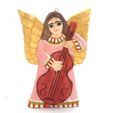 Aniołek na choinkę