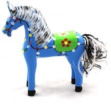 Niebieski koń