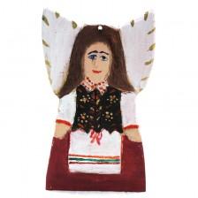 Anioł w ludowej sukience
