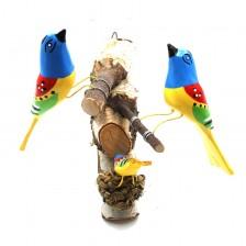 Ptaszki na gałązce
