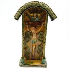 Kapliczka z Chrystusem Ukrzyżowanym