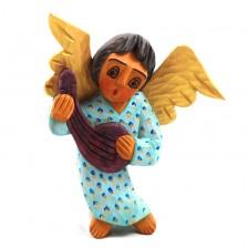 Anioł w błękitnej sukience