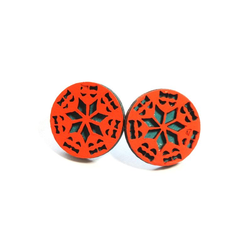 Kolczyki (pomarańcz)
