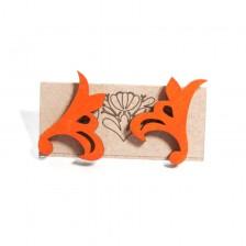 Kolczyki (pomarańczowe)