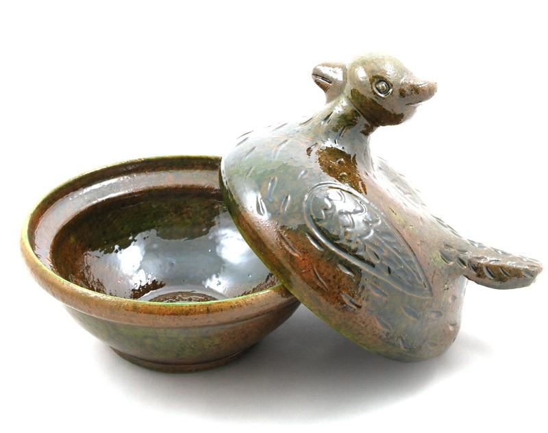 Mała kura (zielona)
