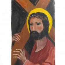 Chrystus niosący krzyż - lata 80.